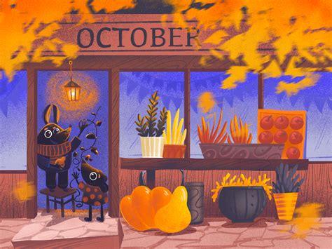 Cozy October Illustration by tubik.arts on Dribbble
