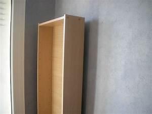Etagere A Fixer Au Mur : fixer une tag re au mur ~ Teatrodelosmanantiales.com Idées de Décoration