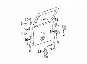 Dodge Grand Caravan Key Cylinder To Latch  Link Rod