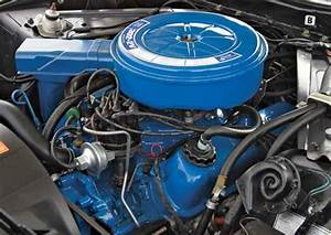 Stock 302 Air Cleaner For 71- 76 Ford Truck   - Car Aftermarket    Resin