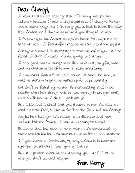 letter to my cheating husband letter to my husband lovely letter to my husband 23227 | article 0 0D2D8AFF00000578 39 634x808