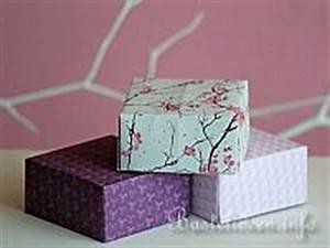 Quadratische Schachtel Falten : bastelanleitung origami schachtel papierbasteln ~ Eleganceandgraceweddings.com Haus und Dekorationen