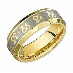 lesbian wedding rings are always laden with symbols and With wedding rings for lesbians