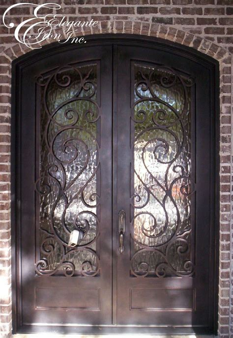 custom wrought iron front door doors and gates