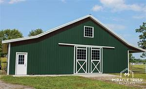pre fabricated metal agricultural buildings miracle truss With agricultural steel building kits