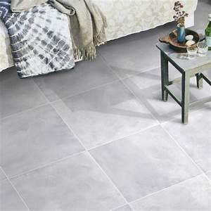 Carrelage Interieur Pas Cher : carrelage d 39 int rieur avenue 45 x45 cm gris brillant ~ Dailycaller-alerts.com Idées de Décoration