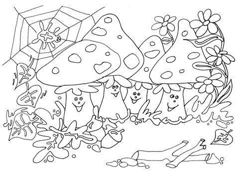 Herfst Kleurplaat Bovenbouw by Thema Seizoenen Herfst Kleurplaten Juf Milou Herfst