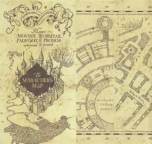 Marauder's Map Of Hogwarts Digital Art by Midex Planet