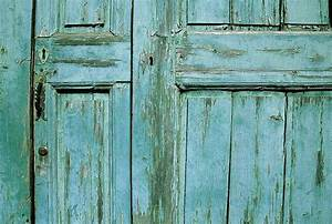 Old wooden door detail wallpaper wall mural self