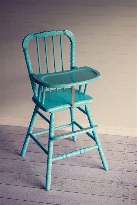 Lind High Chair Craigslist by Painted Vintage Lind High Chair