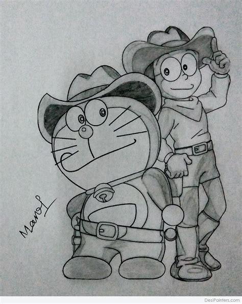 cartoon pencil drawing  foxytoonco