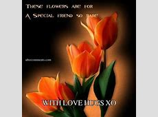WITH LOVE HUGS XO Friendship graphics for Facebook