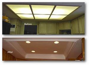 Kitchen coffered ceiling appleton renovations