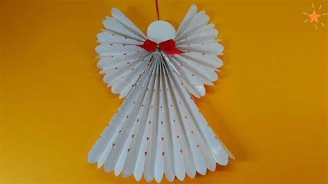 paper angel christmas tree decorations