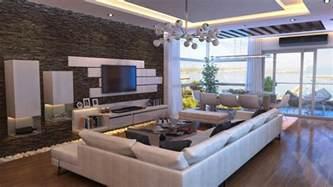 steinwand wohnzimmer bachelor pad ideas