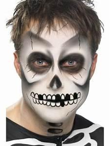 Maquillage Squelette Facile : 1001 id es de maquillage halloween homme impressionnant ~ Dode.kayakingforconservation.com Idées de Décoration