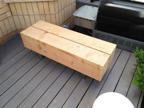modern douglas fir bench modern outdoor benches