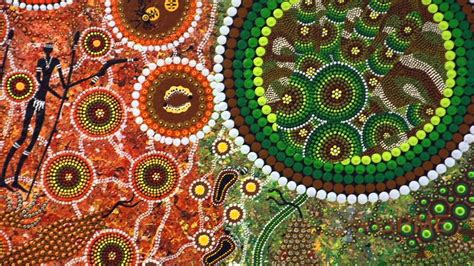 aboriginal art create meaning youtube