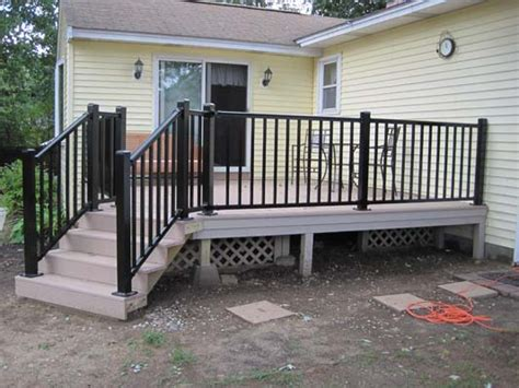 sale aluminum deck stair railing buy curved aluminum