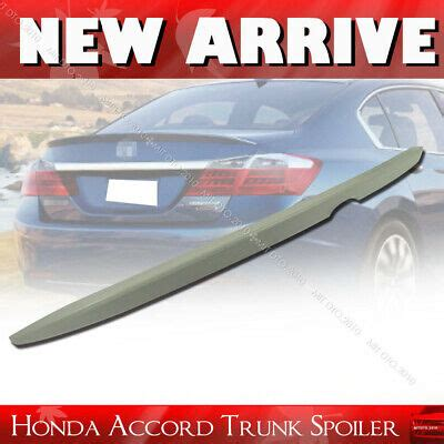 2013-2017 Fit For Honda Accord 9th 4D Rear Trunk Spoiler ...
