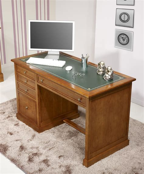 bureau louis philippe occasion bureau 5 tiroirs ne en merisier de style louis philippe