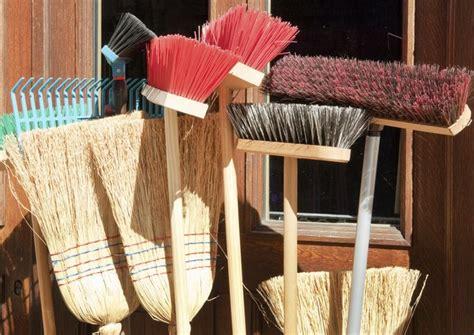 broom  sweeping hardwood floors hunker