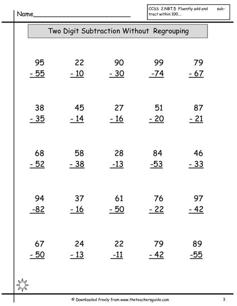 estimating addition  subtraction worksheets worksheet
