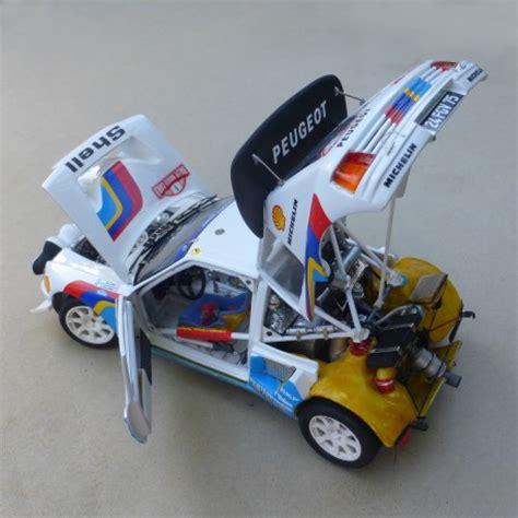 peugeot 205 turbo 16 evo 2 tour de corse 1986 profil24 peugeot 205 turbo evo 2 1986 model kit 1 24