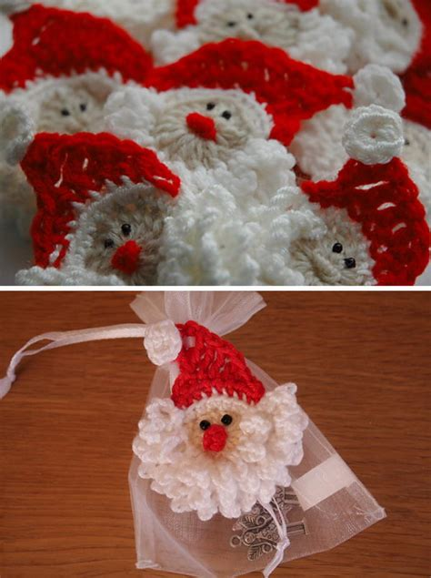 crochet santa claus ideas