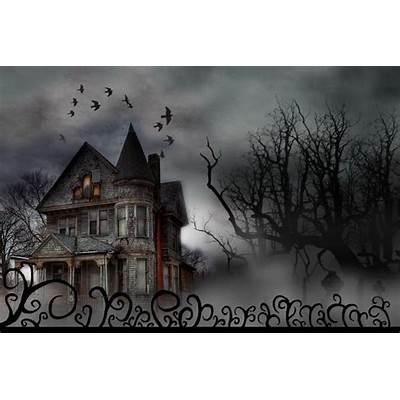 Haunted House - Happy Halloween by MorgannaTorok on DeviantArt