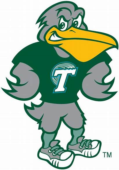 Tulane Mascot Wave Logos University Football College