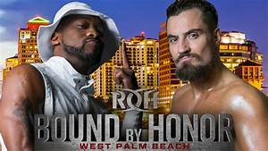 Marty Scurll Takes On Kenny King At Bound By Honor: West ...