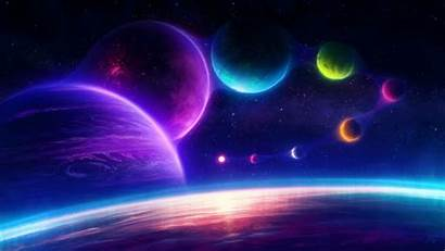 Chill 4k Anime Planets Colorful Scifi Ultra