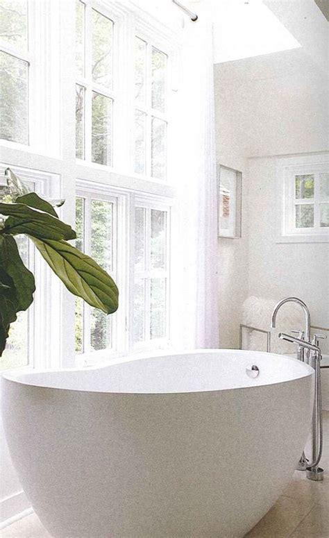 standing deep soaker tub horizon terrace dream room