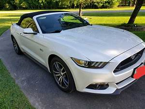 6th gen white 2017 Ford Mustang GT Premium low miles For Sale - MustangCarPlace