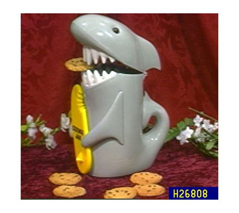 shark cookie jar with sound qvc com