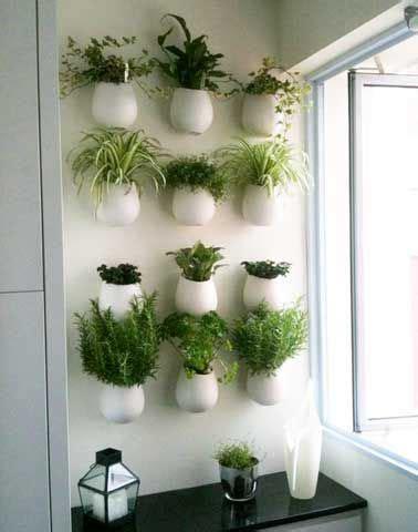 idee relooking cuisine mur vegetal  autre jardin