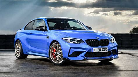 2020 bmw m2 cs debuts with more power better suspension and a manual
