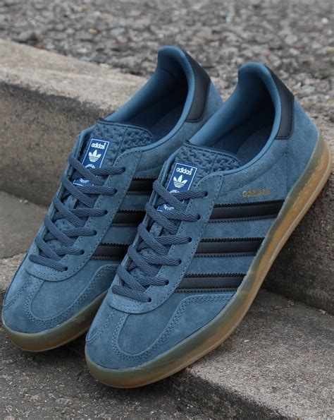 Adidas Gazelle Indoor Trainers Legacy Blue/Black - 80s ...