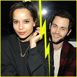 Penn Badgley & Zoe Kravitz Split? | Penn Badgley, Split ...