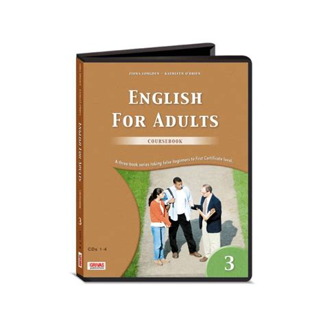English For Adults 3 Coursebook Audio Cds (8