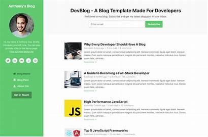 Bootstrap Templates Template Blogs Themes Coding Devblog