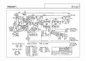 Engl Preamp I Sch Service Manual Download  Schematics