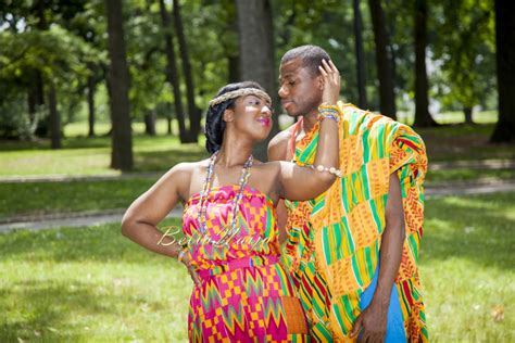 A Cute Kente Pre-wedding Shoot! Ruth Of Stylenique Events