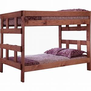 Chelsea home furniture full over full bunk bed juvenile for Hometown furniture exchange