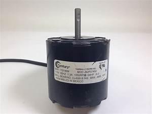 Century Jb2p074n Universal Electric Motor 115v 1550rpm 1