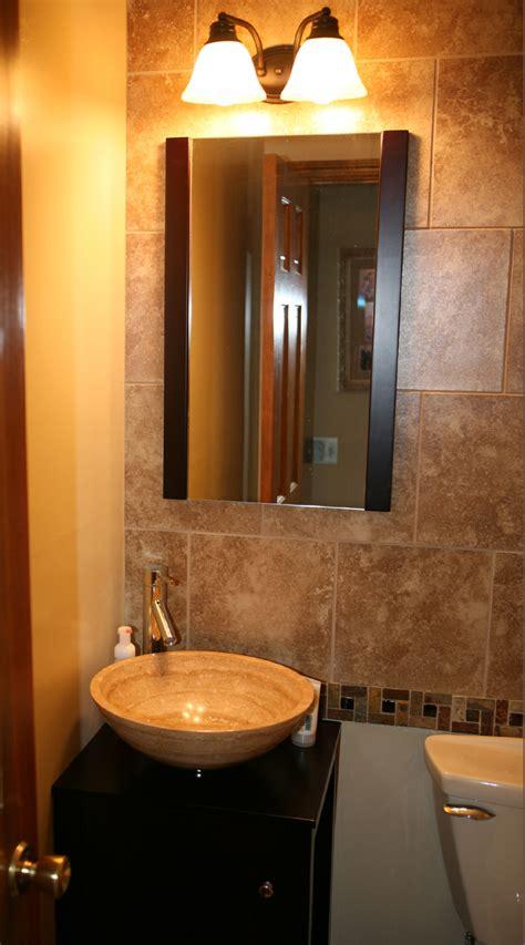 unique bathroom vanity client