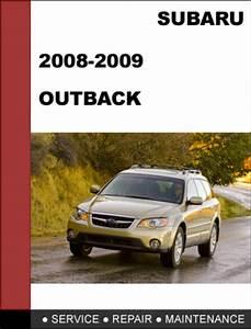 Service And Repair Manuals 2009 Subaru Outback Transmission Control
