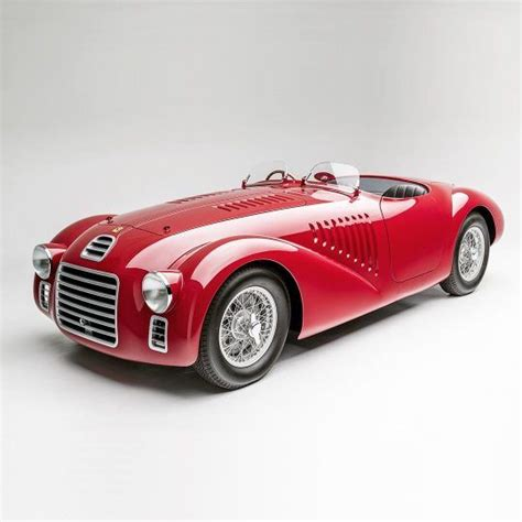 He built the kind of engine for the car which later on became the hallmark of the brand. The 1947 Ferrari 125 S is the first Ferrari ever made. It features a tiny 1.5-liter V12 engine ...