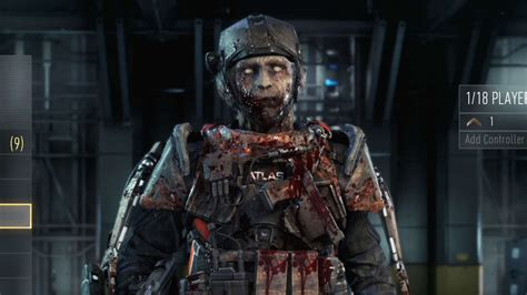unlock  zombie skin call  duty advanced warfare